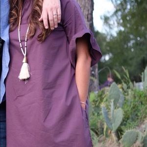 THML Shift Dress with Attached Shorts